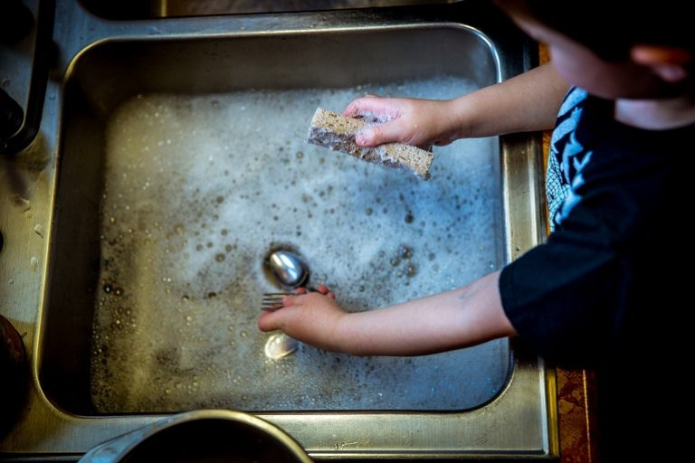 Kinder Küche aus Holz-1
