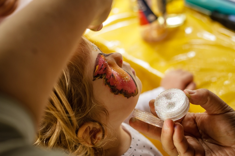 kinderschminke-test