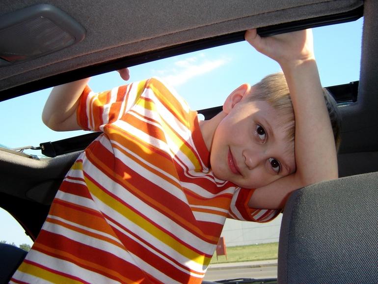 Autositz Kinder