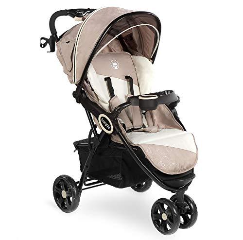 Froggy DINGO Dreirad   Kinderbuggy mit Liegefunktion   Kinderwagen für Reisen   Leicht nur 9 kg   Zusammenklappbar mit Liegeposition und Sonnenschutz   Jasper