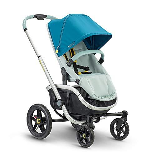 Quinny VNC Kinderwagen, nutzbar ab circa 6 Monate bis circa 3,5 Jahre (0-15 kg), stylischer Buggy mit einer Hand zusammenklappbar und besonders wendig, grey twist, grau