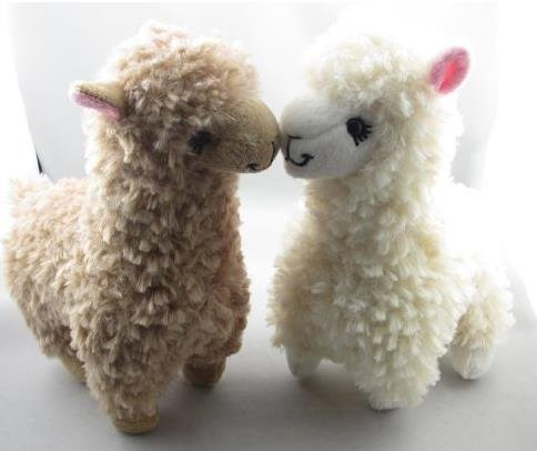 DORSION 2pcs 9inch Plüsch gefüllt Alpaka Puppe Spielzeug