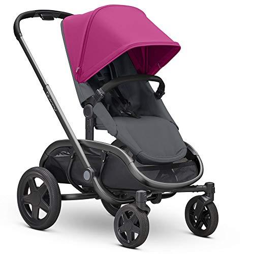 Quinny Hubb Mono XXL Einkaufskinderwagen Pink auf Graphit