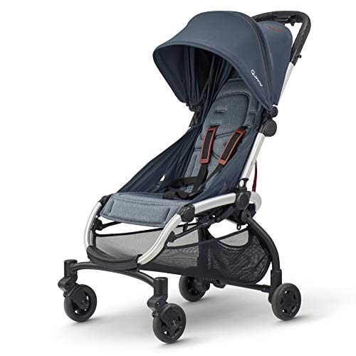 Quinny LDN Kinderwagen - ab Geburt bis ca. 3,5 Jahre - Super Comfort Kinderwagen - Graphit Twist